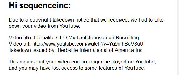 herbalife-copyright-claim-youtube